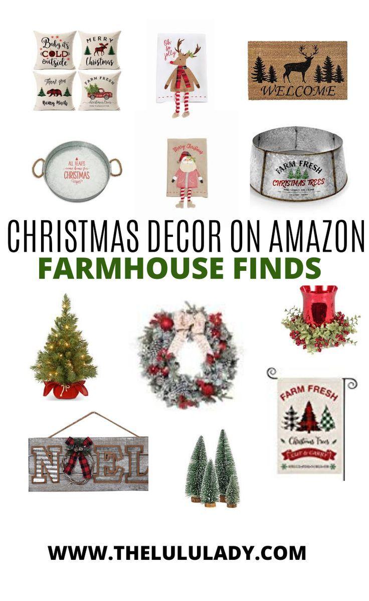 Cute Christmas Decor On Amazon Farmhouse Finds Christmas Centerpieces Diy Christmas Decorations Diy Christmas Table