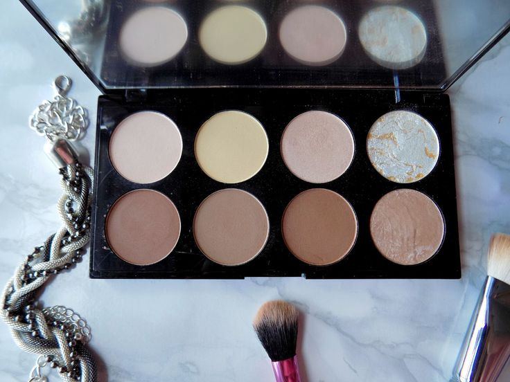 Makeup Revolution Ultra Contour palette - review