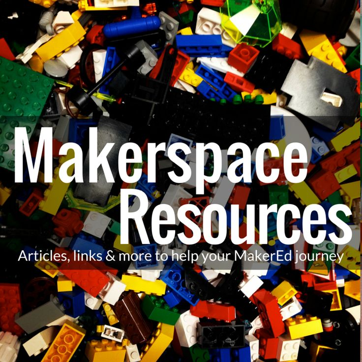 I've compiled some of my best Makerspace resources onto this page.  I've been researching this topic extensively, and I will continue to add resources as I discover them. What is the Maker Movement? Thinkers and Tinkers: The Maker Movement