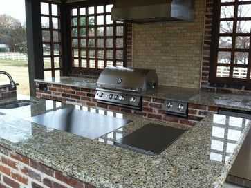 CND teppanyaki outdoor kitchen in horse country, model MO-80. Love it! cookndine.com