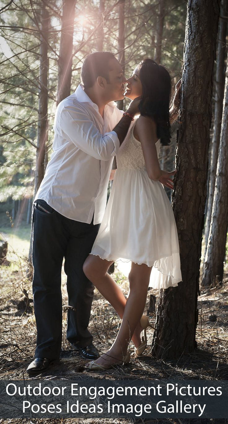Outdoor Engagement Pictures Poses Ideas Image Gallery ...