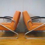 buisframe fauteuils jaren 60