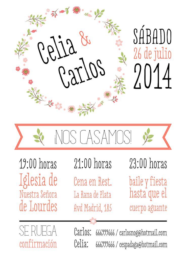 beautiful ideas originales para disear tus propias de boda with plantilla invitacion de boda