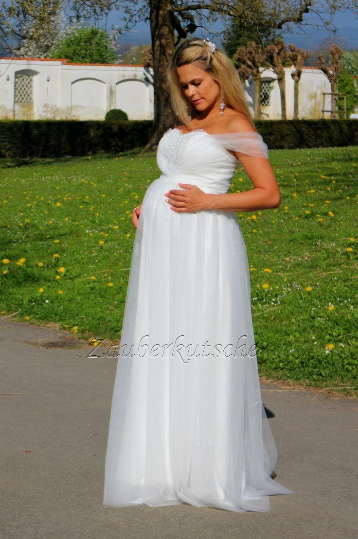 Umstandskleid Brautkleid Gr. 34 bis 52 Braut Hochzeit Kleid
