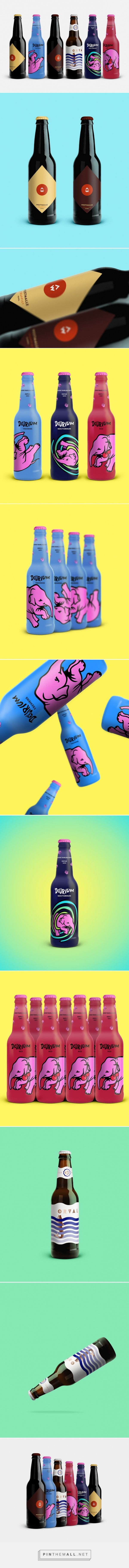 Belgian Beers Labels Redesign /Concept / designer / Ján Bača