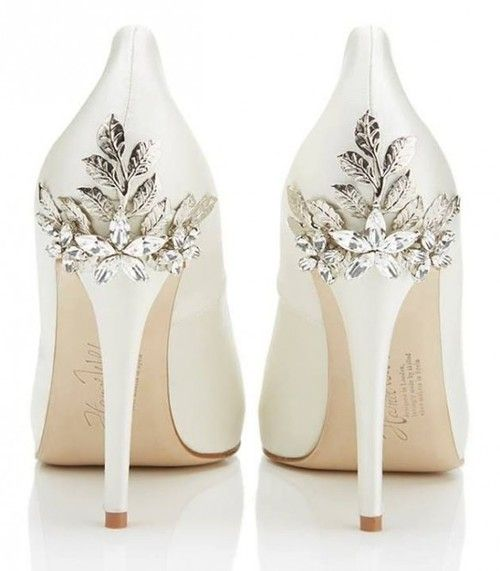 http://weddbook.com/media/1981232/forever ♥ Gorgeous Wedding Shoes by Harriet Wilde