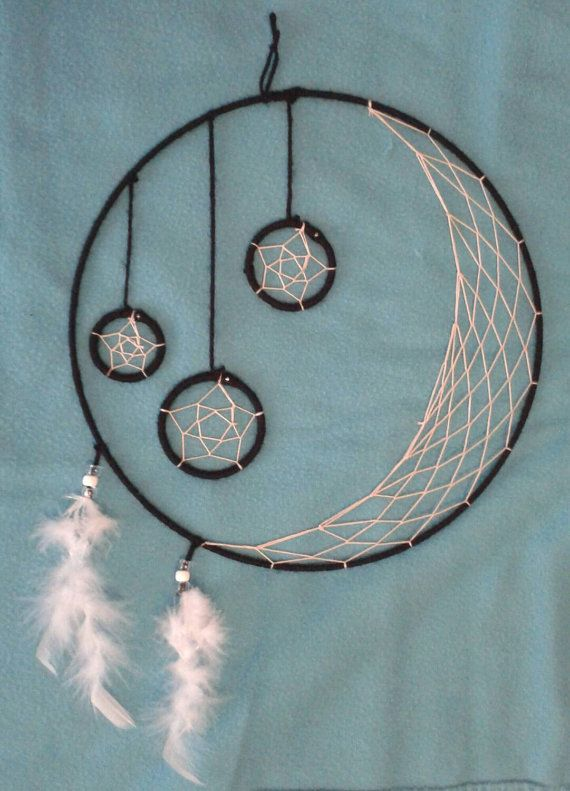 17 best images about dream catcher ideas on pinterest for Ideas for making dream catchers
