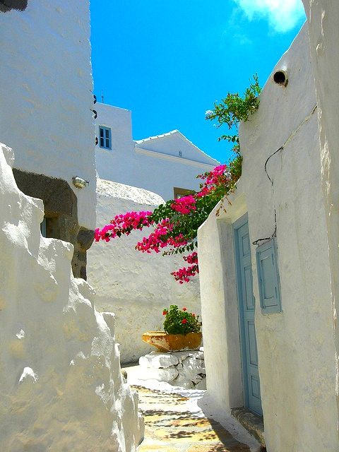 Streets of Patmos | Greece