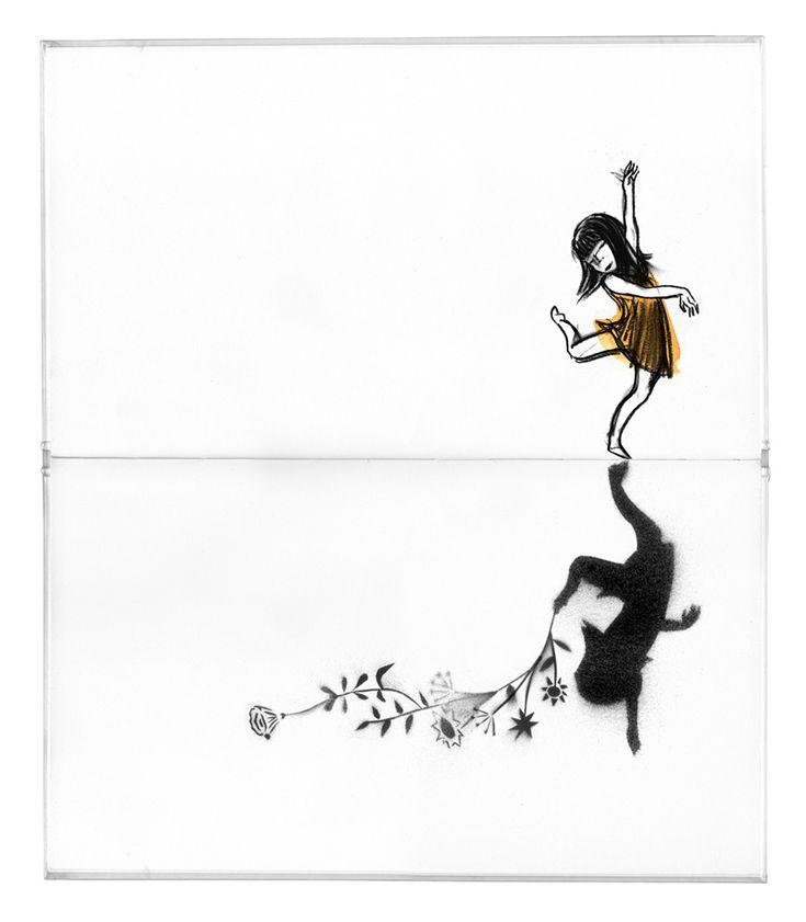 Libro ficticio de Suzy Lee 'Sombra'