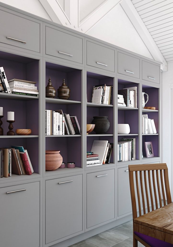 Modern Classic single bookcases - Stunning hand made furniture from Mereway Kitchens