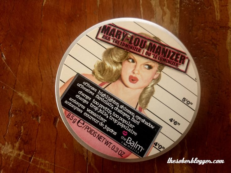 The MaryLou Balm Highlighter