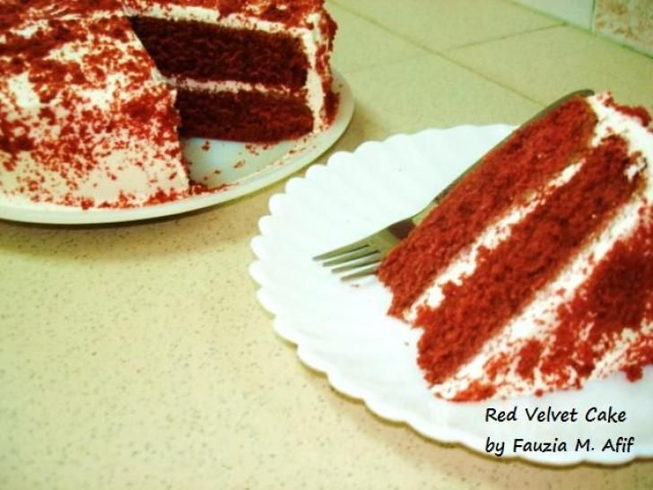 Fauzia Kitchen Fun Vanilla Cake