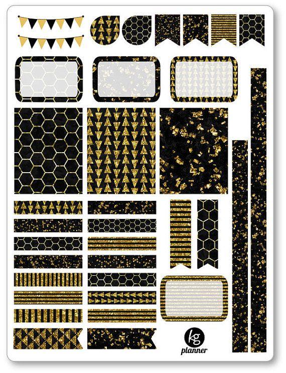 ... Spread Planner Stickers for Erin Condren Planner, Filofax, Plum Paper