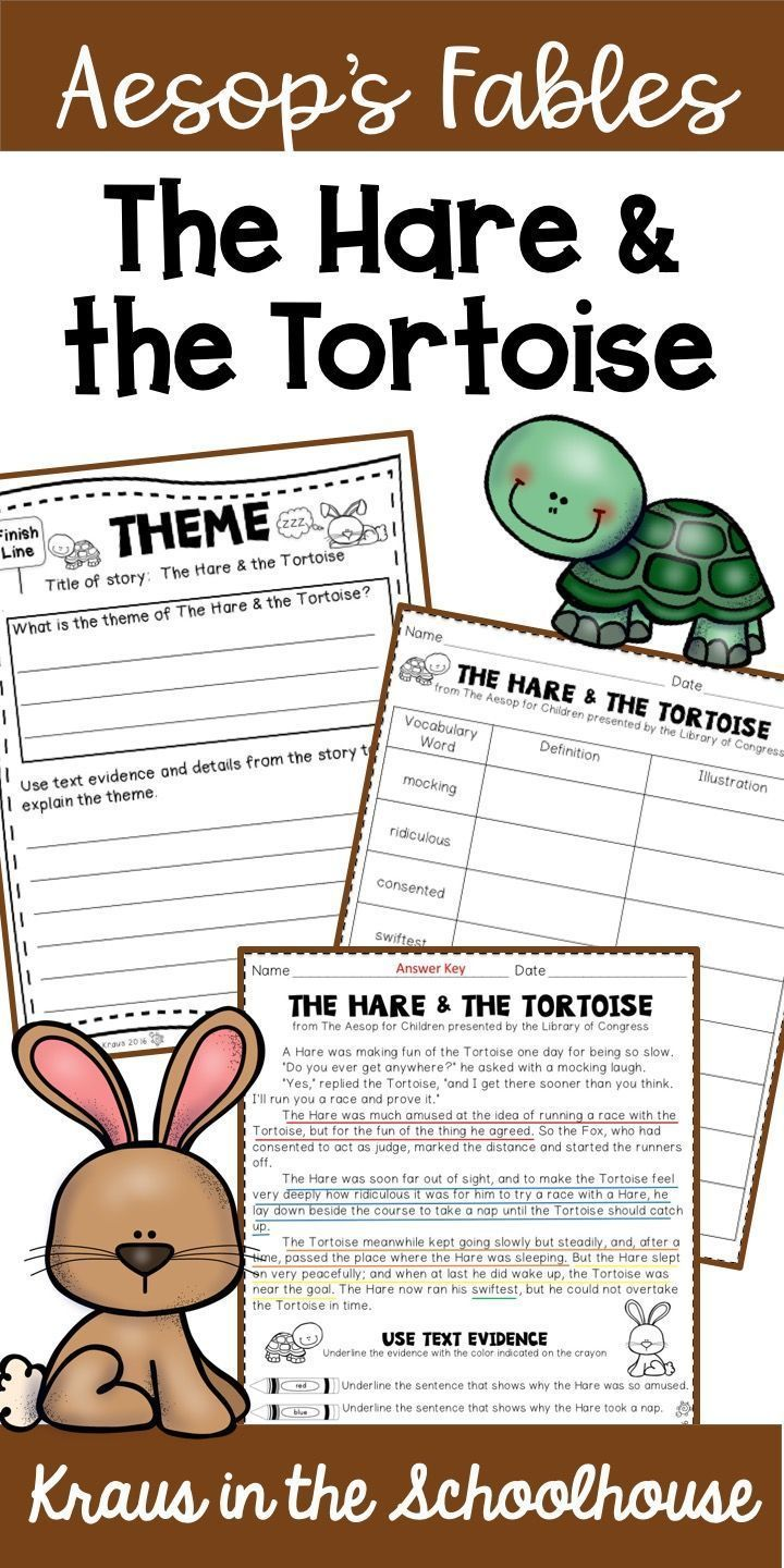 Using Aesop S Fables With Students Is A Fun Way To Teach Theme The Hare The T Teaching Themes Reading Graphic Organizers Elementary Language Arts Activities [ 1440 x 720 Pixel ]
