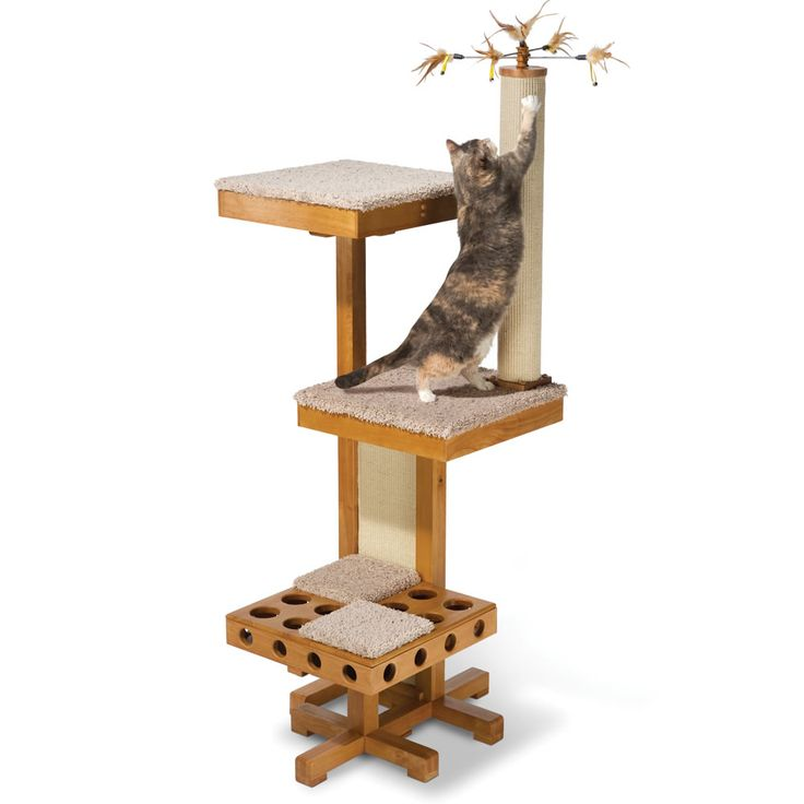 108 best cat dog furniture images on pinterest cat for Diy cat playground