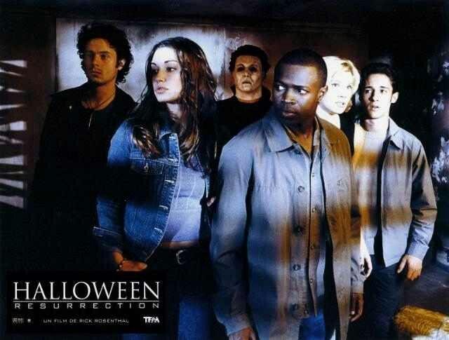 halloween resurrection beginning