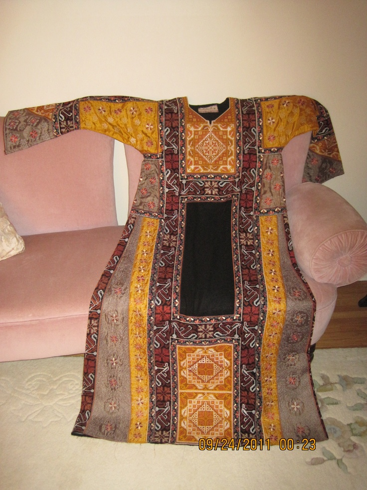 Images about palestinian thobe on pinterest