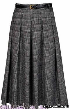 """Нарядная юбка """"солнце"""" с бантовыми складками - Учитесь шить и вязать  - Всё о шитье"""