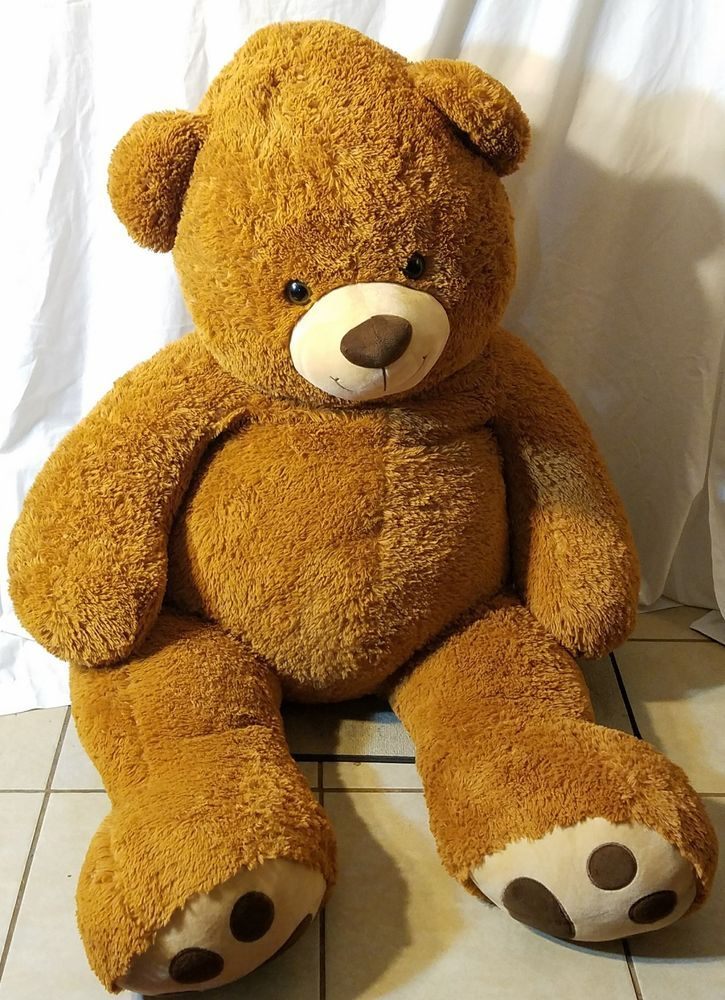 5 Foot Huge Brown Teddy Bear Soft Plush Giant Stuffed Animal Life Size Valentine #BestMadeToys