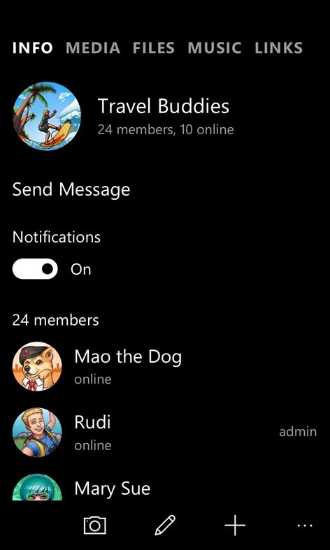Telegram Messenger app updates on Windows phone with interactive notifications https://www.onmsft.com/news/telegram-messenger-app-updates-on-windows-phone-with-interactive-notifications