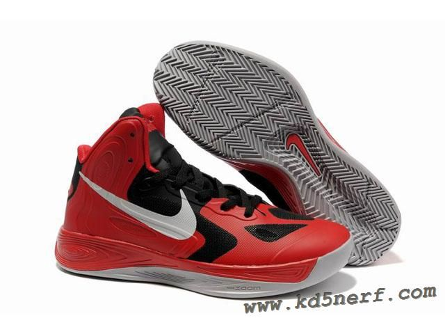 Nike Zoom Hyperfuse 2012 Jeremy Lin Shoes Red Black Gray