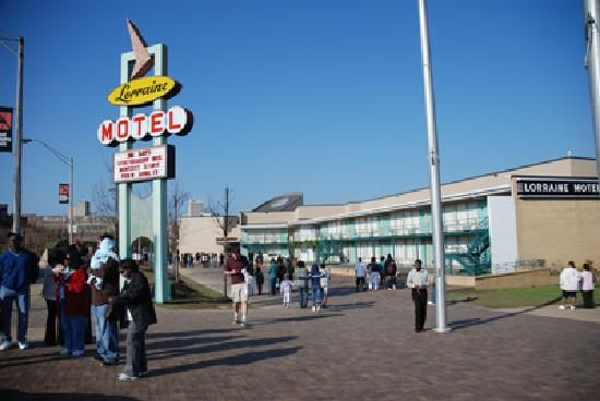 The National Civil Rights Museum/Lorraine Motel - Part of Memphis' past, even if it wasn't our finest hour.