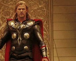 """(click for full gif set) From tumblr: """"The heart-breaking thing about the gif with Frigga is that Loki isn't watching Thor—he's watching his mother run towards Thor… and away from him."""" <--- Thanks for that. My heart was only 99% broken today, and I needed an extra kick."""