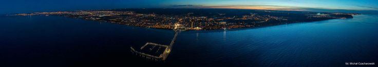 One of the most beautiful panoramic photos of Gdansk...