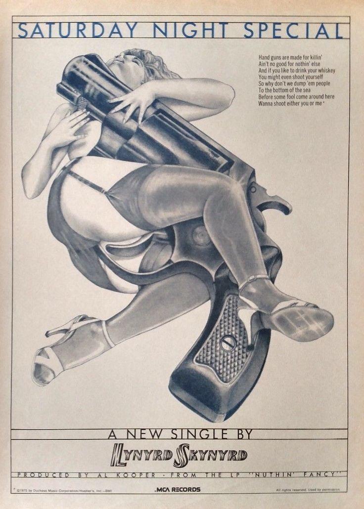 c1089b97207 1975 MCA Records print ad for the Lynyrd Skynyrd single