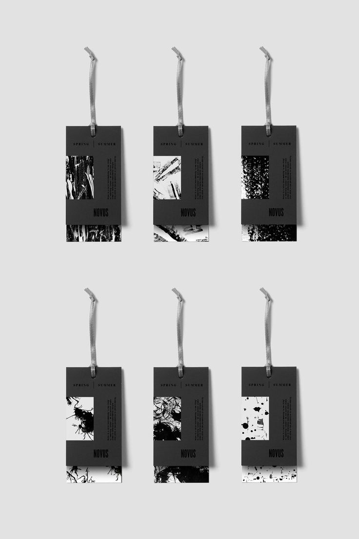 Novus Branding, hang tags