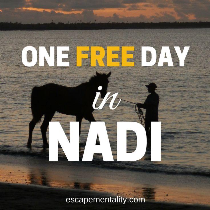 Lots of free activities and cheap eats in Nadi, Fiji!