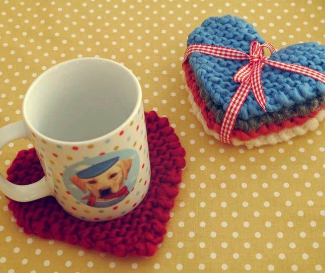 Вязаные подарки ко Дню святого Валентина - коллекция идей на Verena.ru