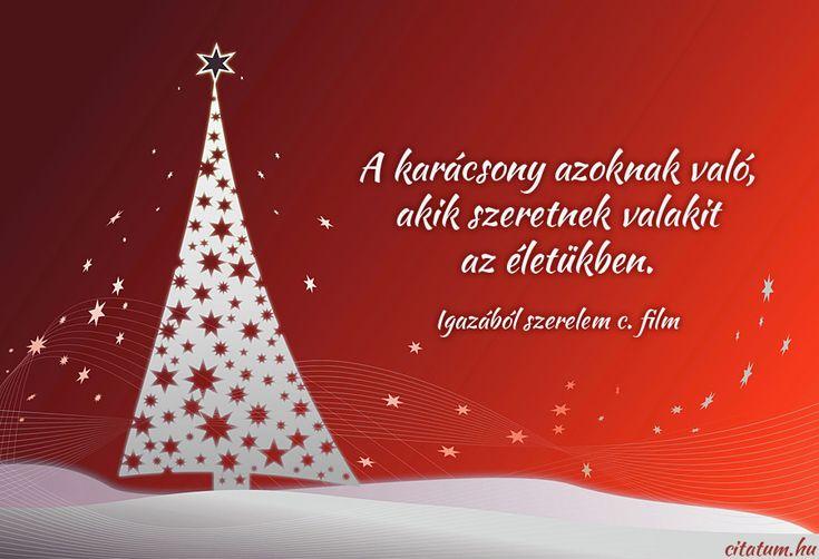Az Igazából szerelem c. film részlete a karácsonyról.