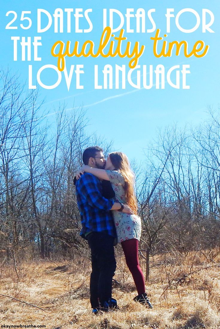 Five love languages for dating couples