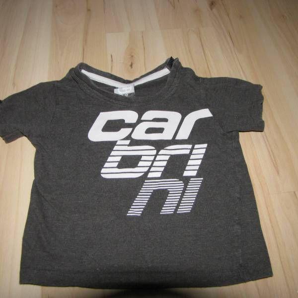 Šedé bavlněné tričko zn. Carbrini vel. 80 z bazaru