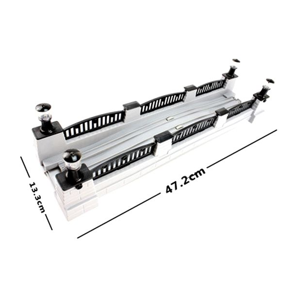 D500 Бесплатная доставка электрический железнодорожный Томас поезд игрушка, посвященный трек сцены аксессуары (электронная музыка мост)