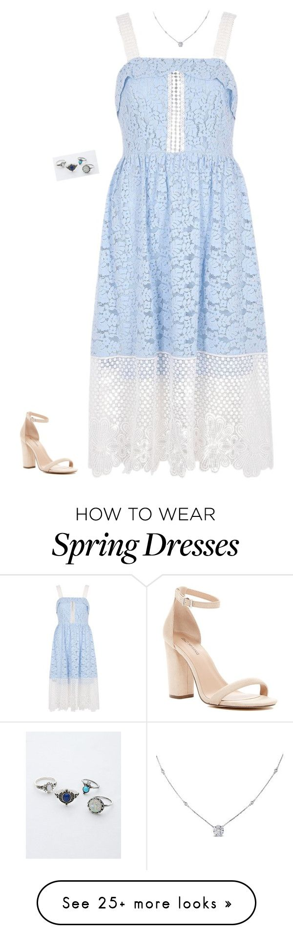 """""""Untitled #437"""" by jessiemt2 on Polyvore featuring River Island, Call it SPRING and Ice"""