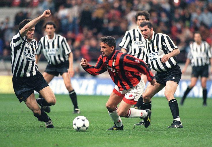 Baggio VS Juventus