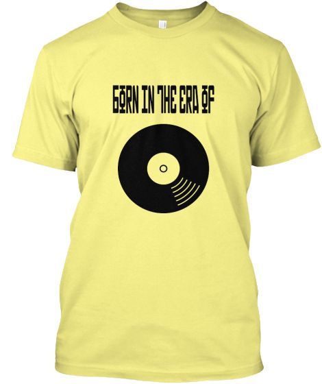 """""""Born in the era of LP"""" Retro Shirt 