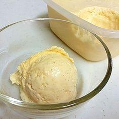 ハーゲンダッツのような濃厚バニラアイスクリーム