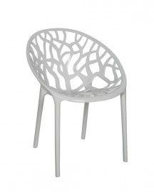 Design stoel Kristal transparant