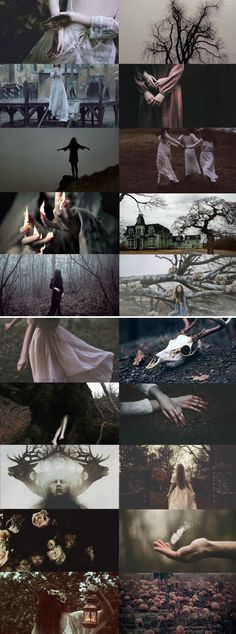 """Southern Gothic witches: """"Never put your faith in a Prince. When you require a miracle, trust in a Witch."""" ― Catherynne M. Valente, In the Night Garden"""