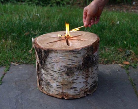 LIGHT 'N GO BONFIRE LOGFire Starters, Trav'Lin Lights, Logs Lights, Beach Parties, Bonfires Logs, Gardens, Coolest Campfirelog, Coolest Campfirenbsplog, Fire Pit