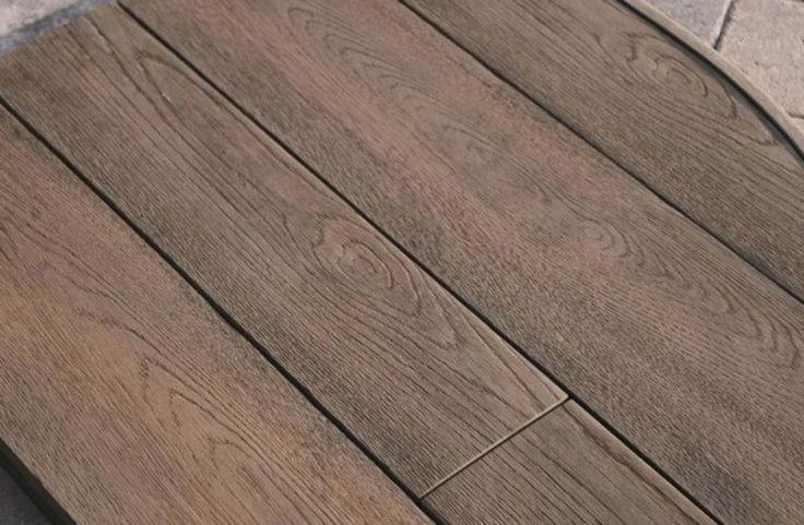 Stylish, Modern, Low Maintence Plastic Decking Board Ehanced Grain Coppered Oak | eBay