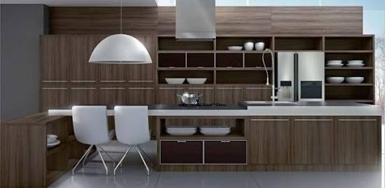 Resultado de imagem para armario de cozinha espelhado