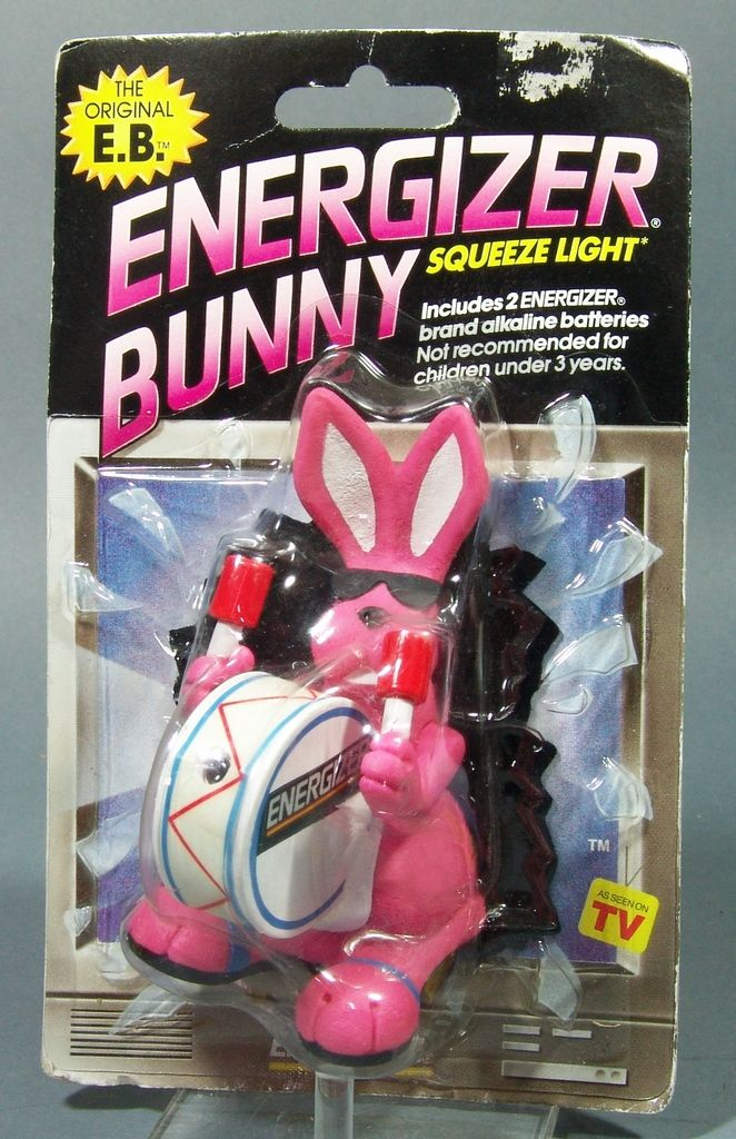 1991 Energizer Bunny Squeeze Light