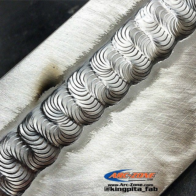 @Kingpita_fab is crushing it on #WeaveWednesday. His #MadAllySkills makes for a beautiful Weave. Way to leave your mark, thanks Aaron! #WeldLikeAPro #arczone #welding