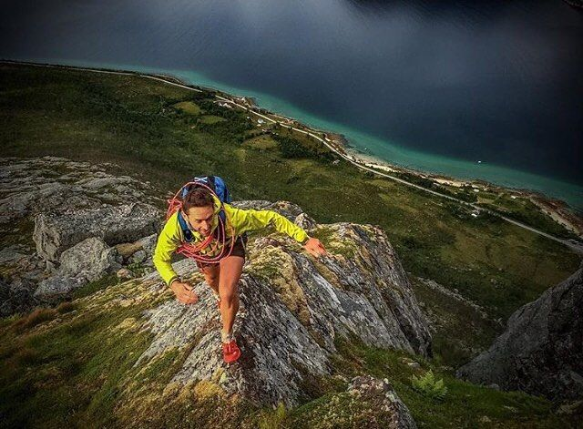Trail inspiration Friday Motivation  Trailing running in Norway with a stunning view . . . Follow us use hashtag #wonderfulrunning and join the movement . . . . . . . . @philippreiter007