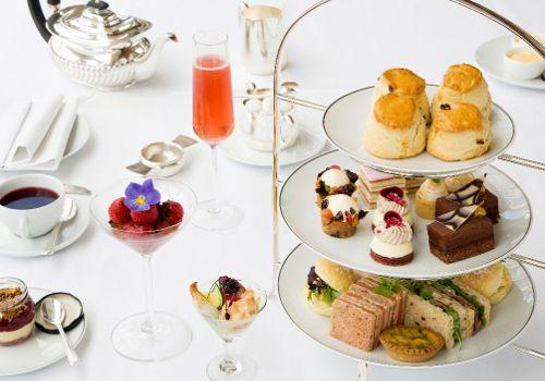 Afternoon Tea at Harrods Terrace - KnightsbridgeHarrods Georgian Restaurant - Knightsbridge