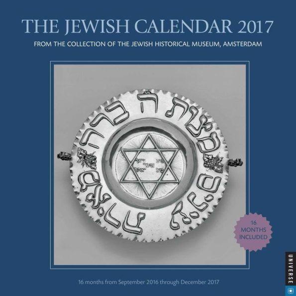 2017 Jewish Calendar, The